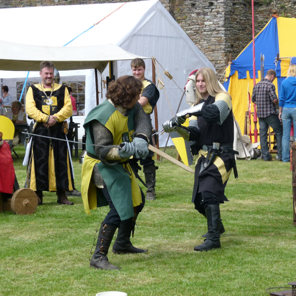 medieval festival Burg Reuland